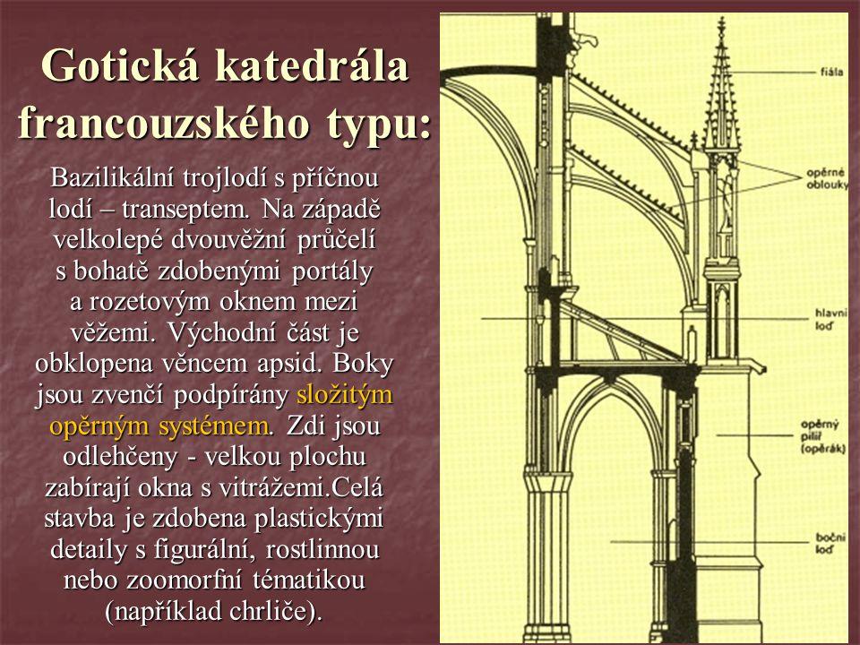 Gotická katedrála francouzského typu: