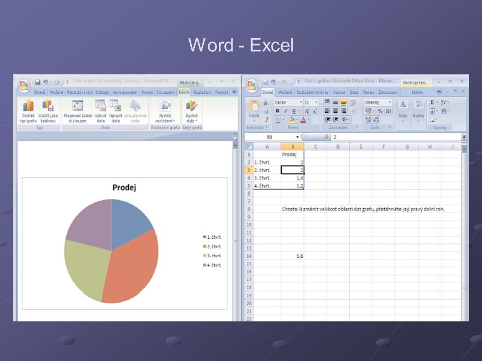 Word - Excel
