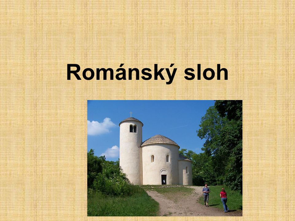 Románský sloh