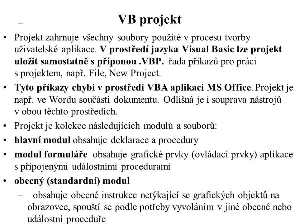 VB projekt