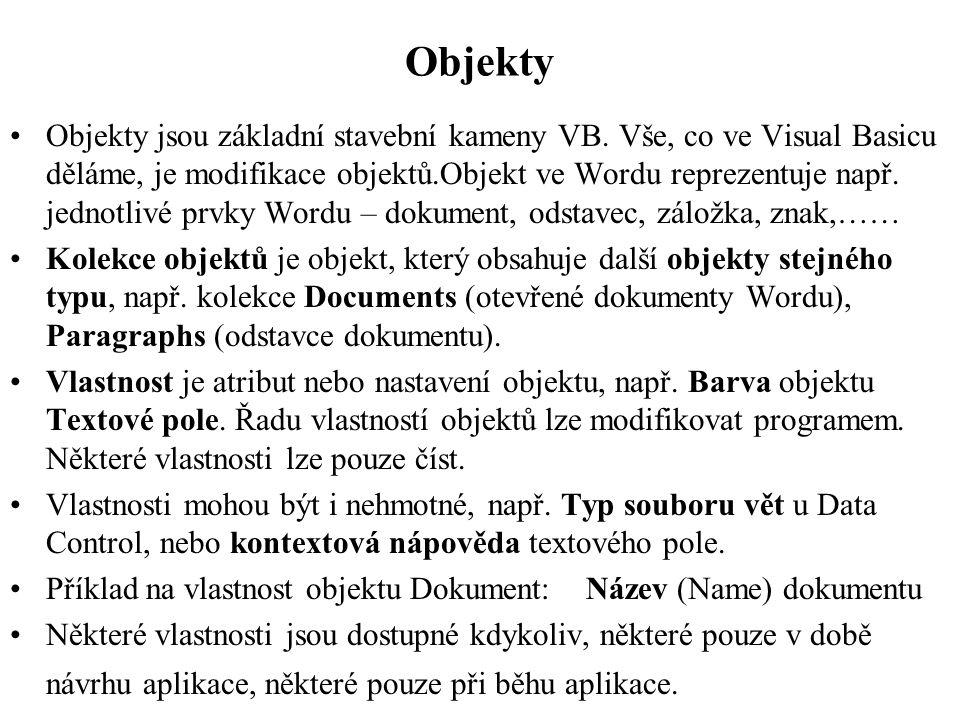 Objekty