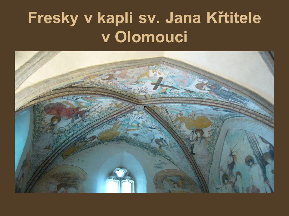 Fresky v kapli sv. Jana Křtitele v Olomouci
