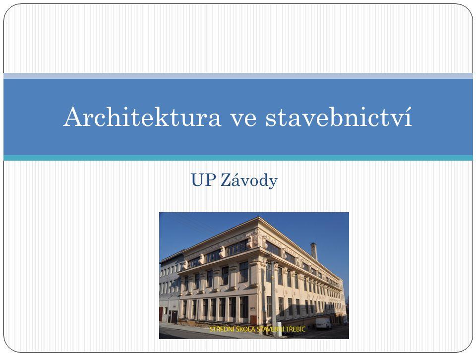 Architektura ve stavebnictví