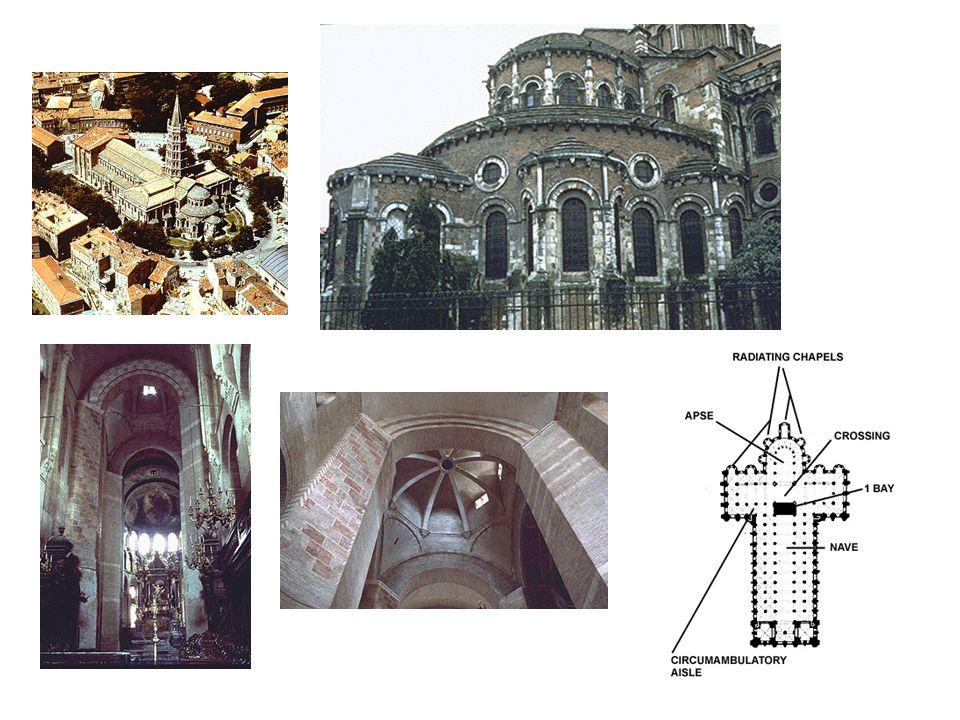 St Sernin: různé pohledy