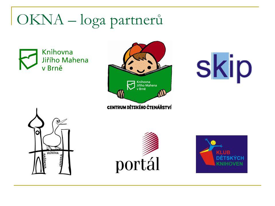 OKNA – loga partnerů