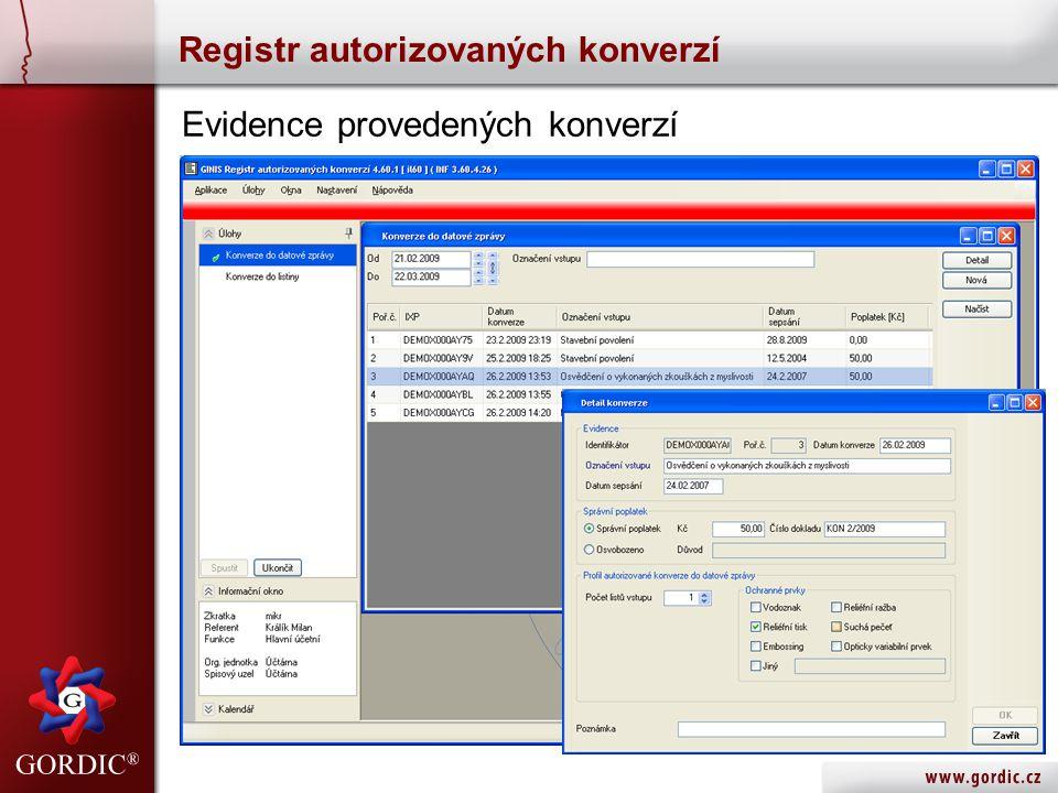 Registr autorizovaných konverzí