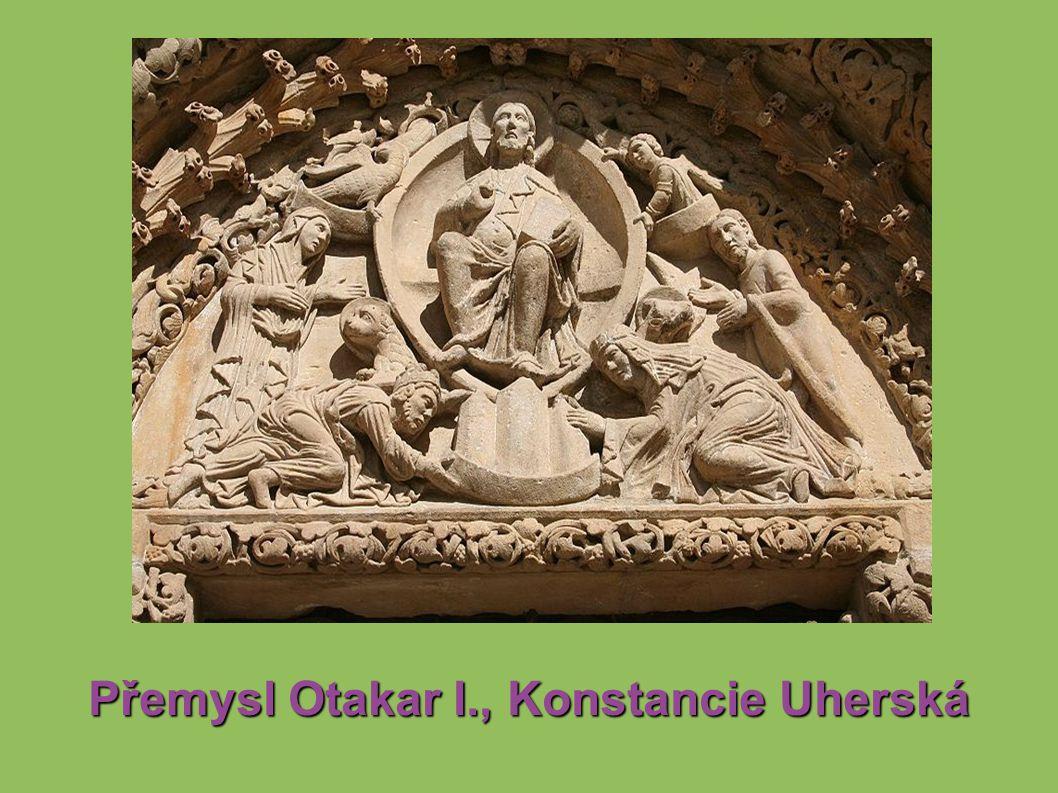 Přemysl Otakar I., Konstancie Uherská