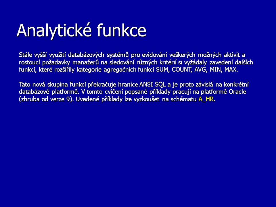 Analytické funkce
