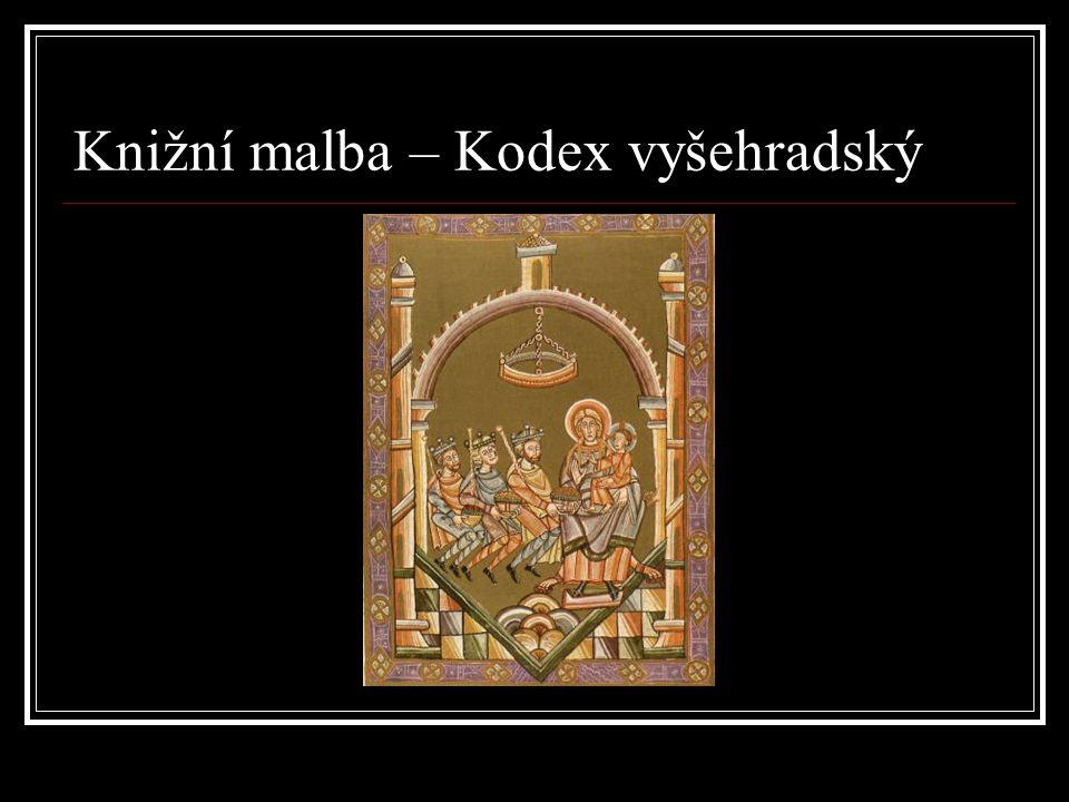 Knižní malba – Kodex vyšehradský