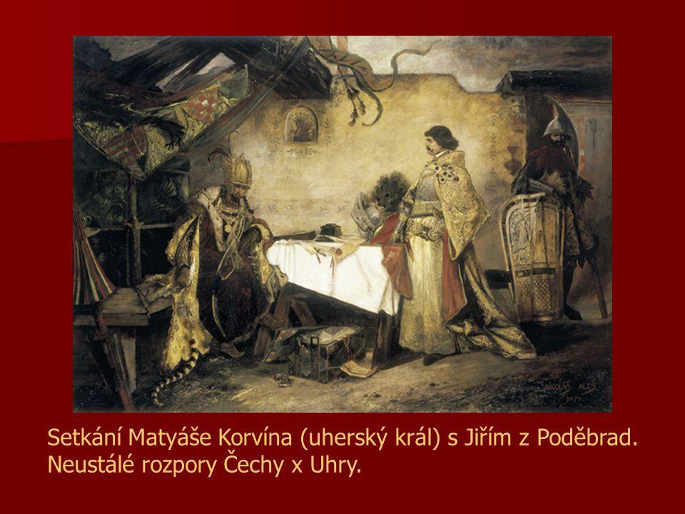 Setkání Matyáše Korvína (uherský král) s Jiřím z Poděbrad