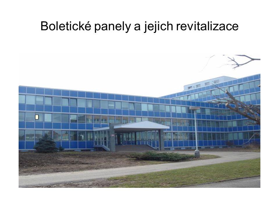 Boletické panely a jejich revitalizace