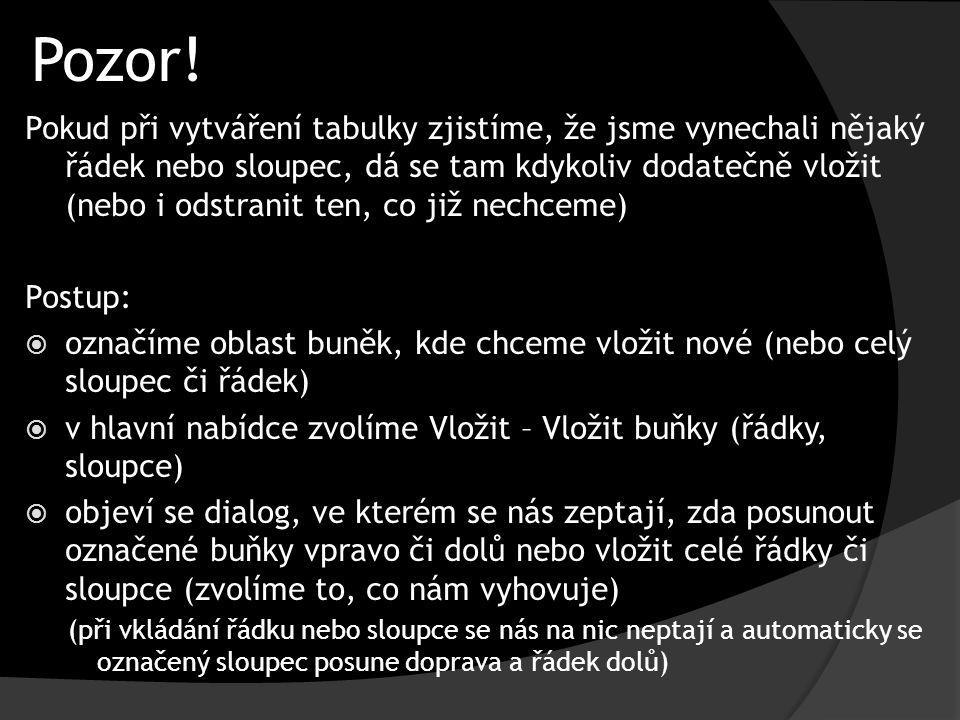 Pozor!