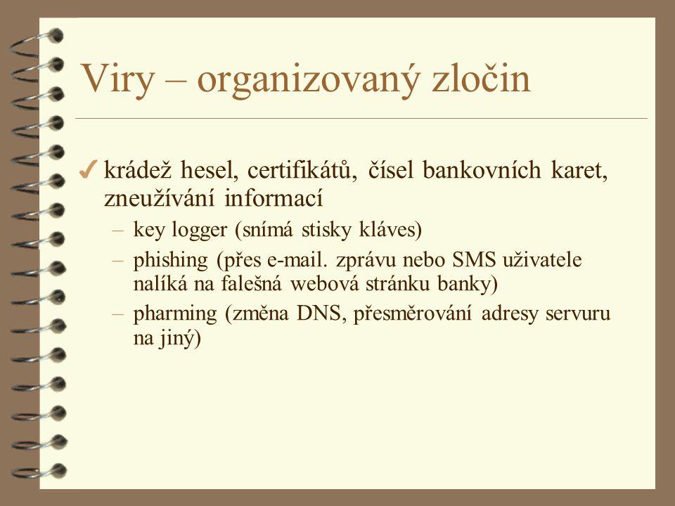 Viry – organizovaný zločin