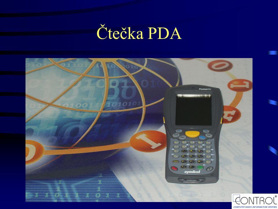 Čtečka PDA