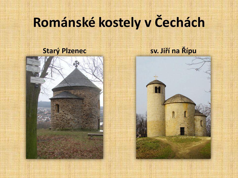 Románské kostely v Čechách