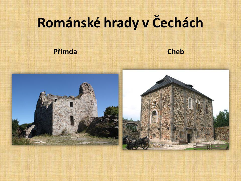 Románské hrady v Čechách