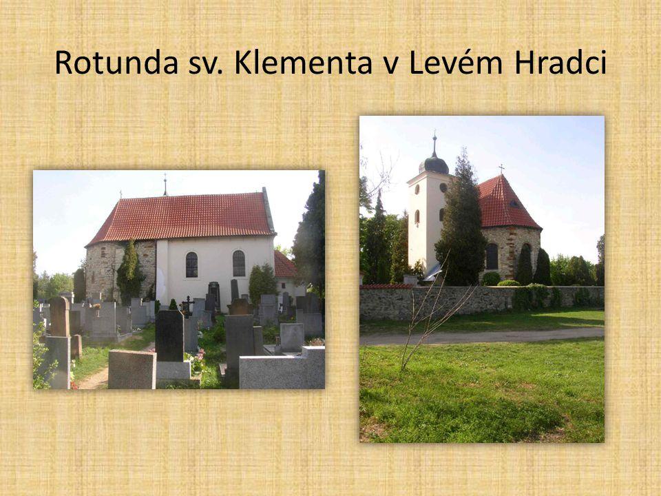 Rotunda sv. Klementa v Levém Hradci