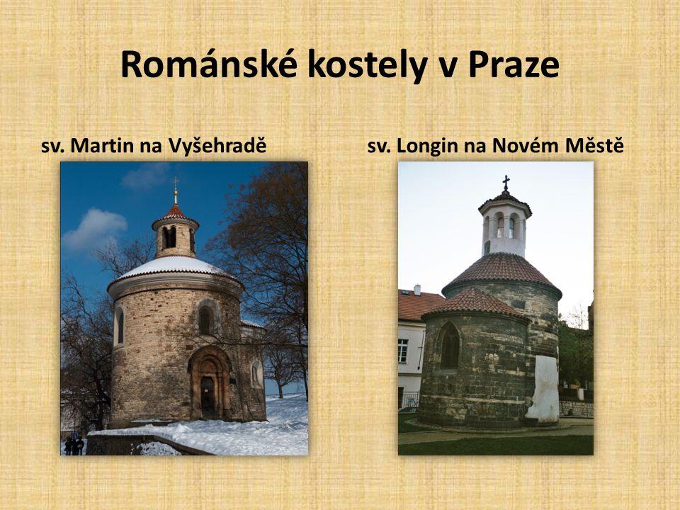 Románské kostely v Praze