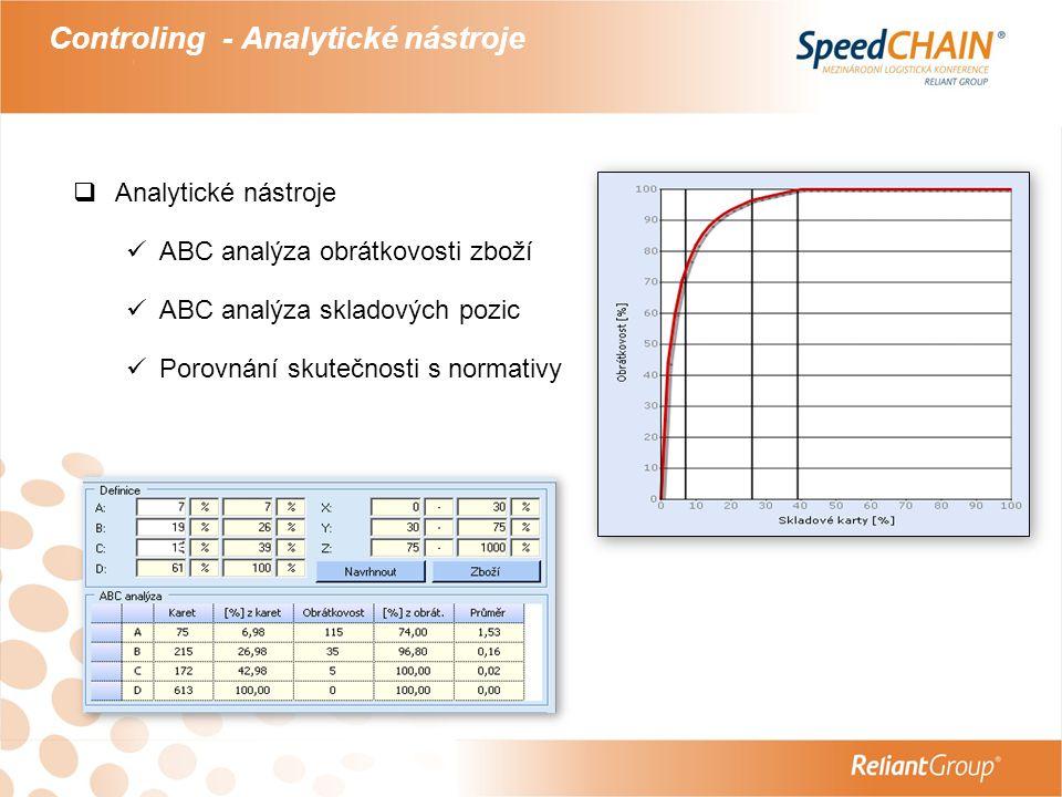 Controling - Analytické nástroje