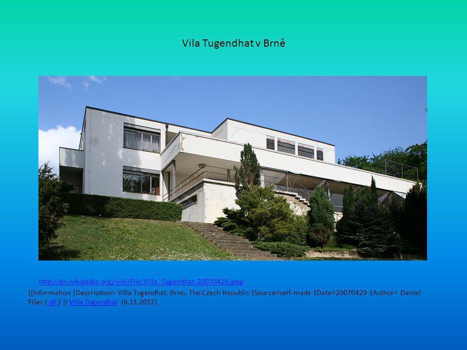 Vila Tugendhat v Brně