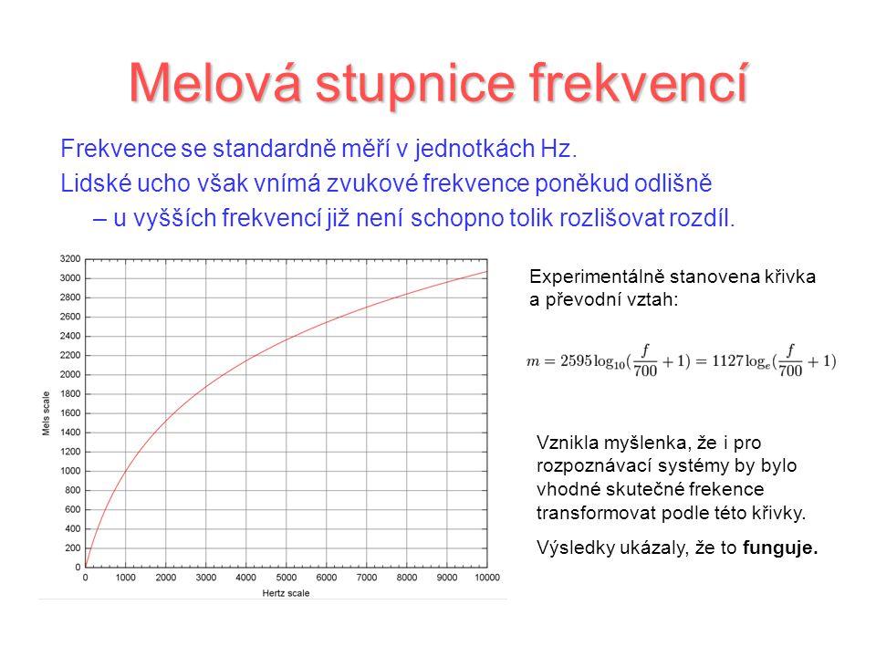 Melová stupnice frekvencí