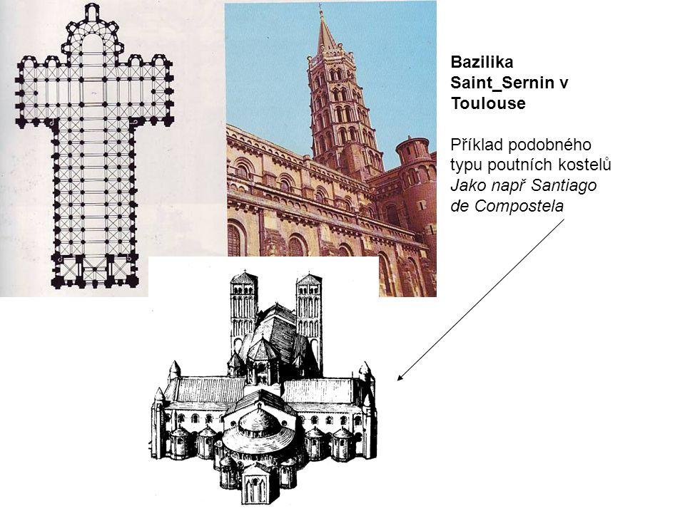 Bazilika Saint_Sernin v Toulouse