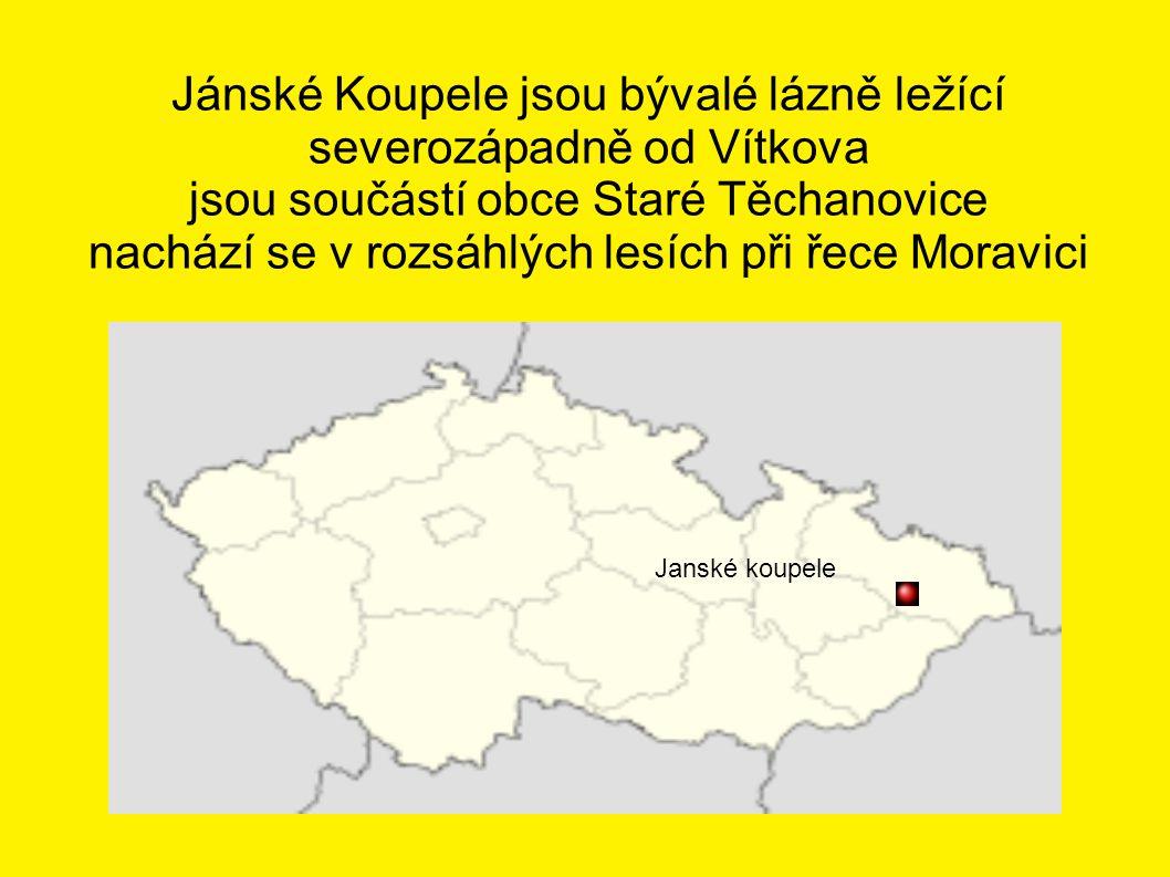 Jánské Koupele jsou bývalé lázně ležící severozápadně od Vítkova