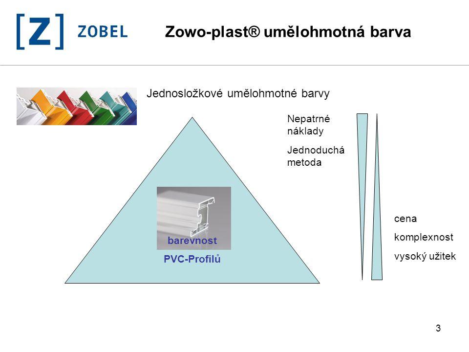 Zowo-plast® umělohmotná barva