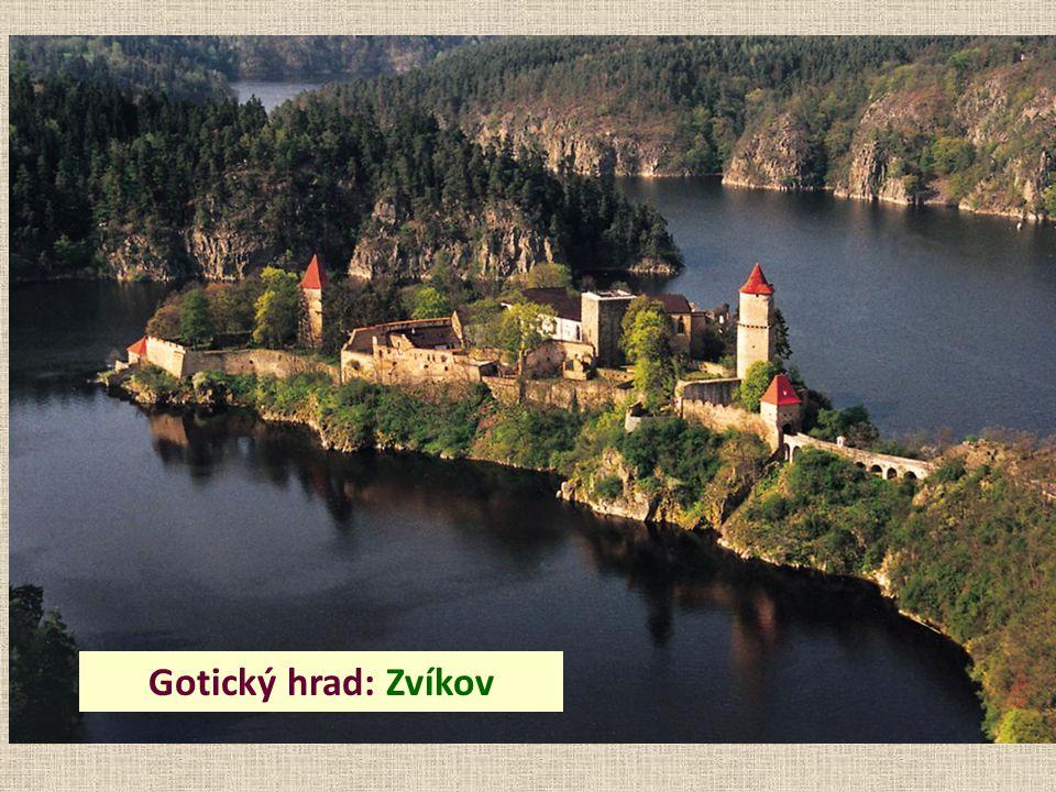 Gotický hrad: Zvíkov