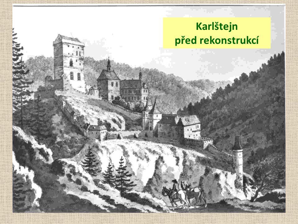Karlštejn před rekonstrukcí