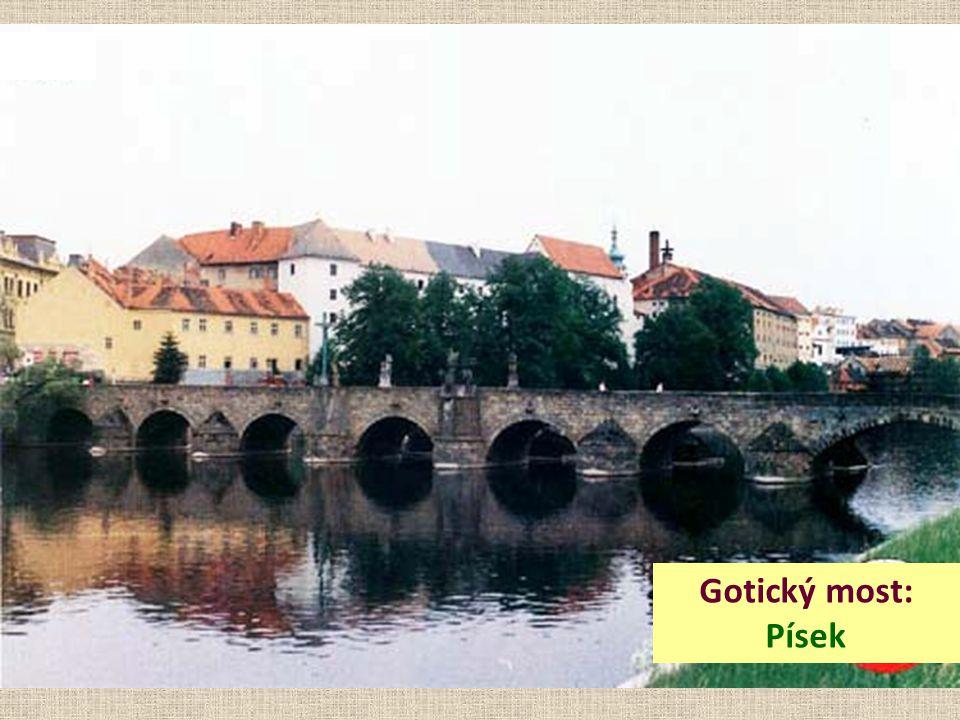 Gotický most: Písek