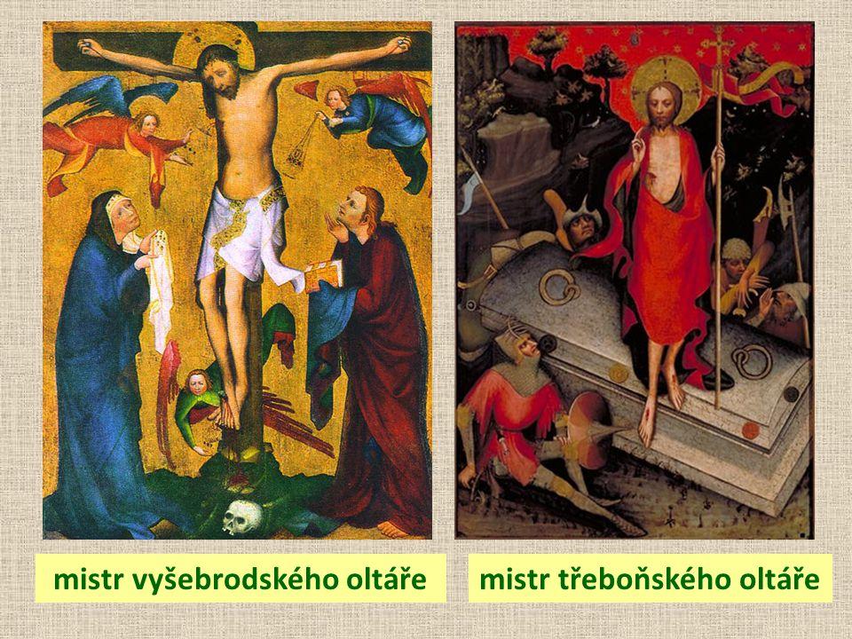 mistr vyšebrodského oltáře mistr třeboňského oltáře