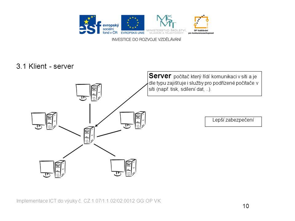 3.1 Klient - server
