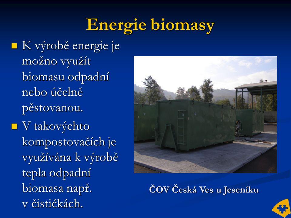 ČOV Česká Ves u Jeseníku