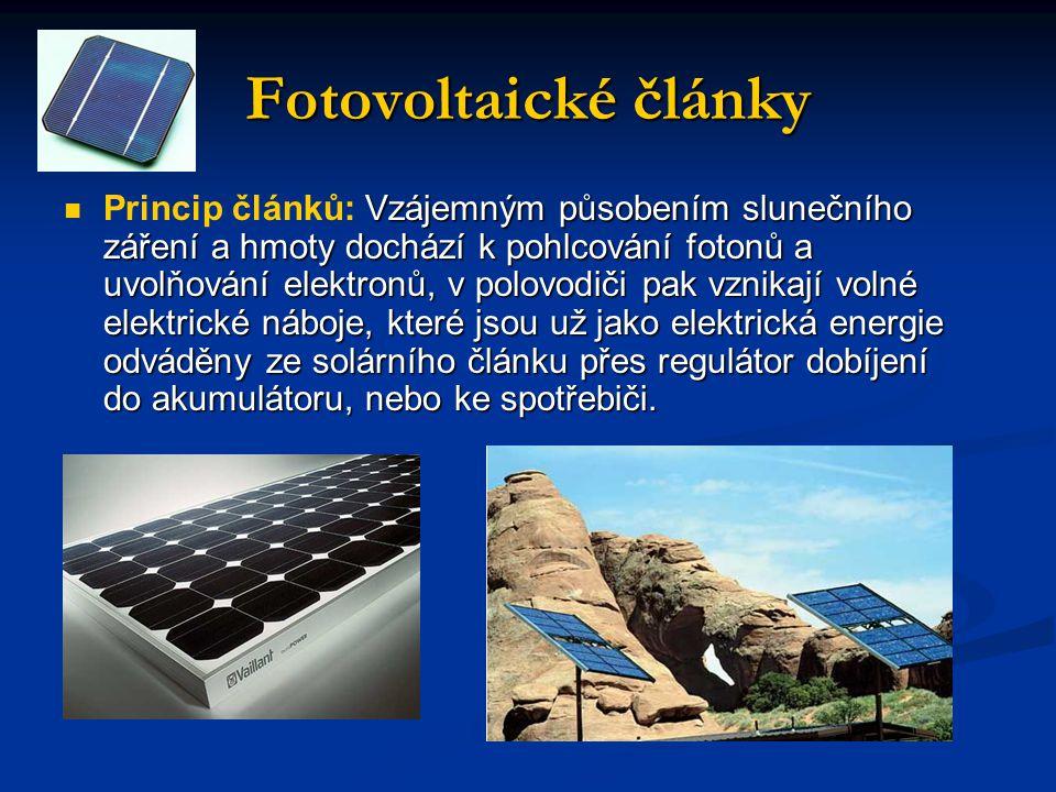 Fotovoltaické články