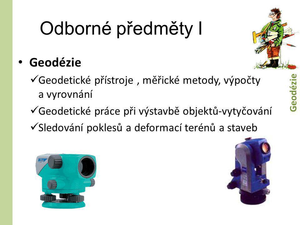 Odborné předměty I Geodézie