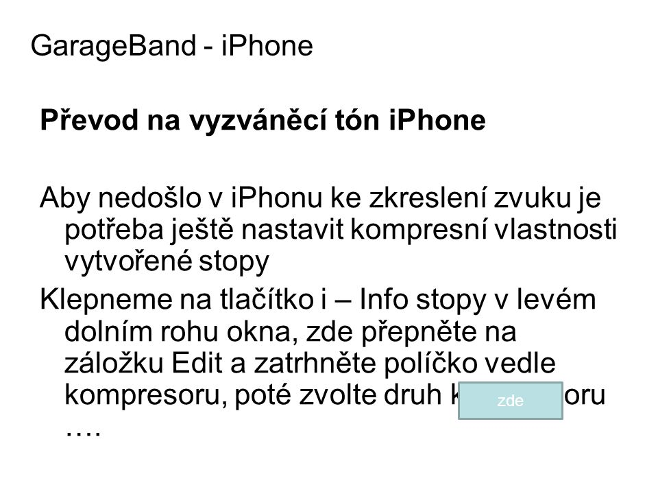 GarageBand - iPhone