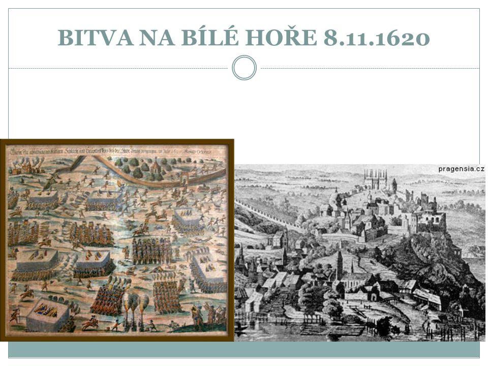 BITVA NA BÍLÉ HOŘE 8.11.1620