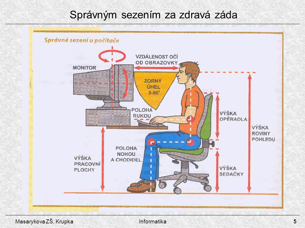 Správným sezením za zdravá záda