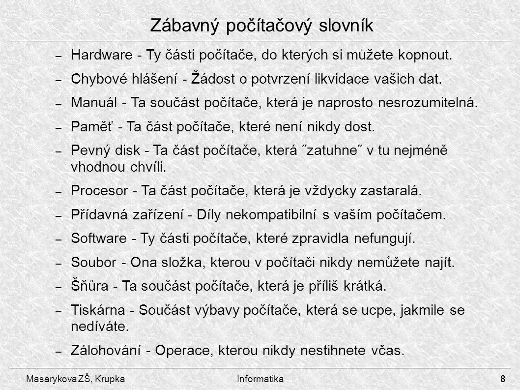 Zábavný počítačový slovník