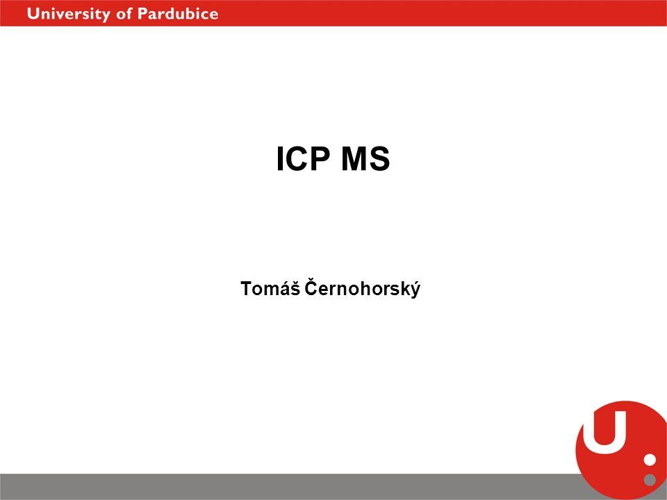 ICP MS Tomáš Černohorský