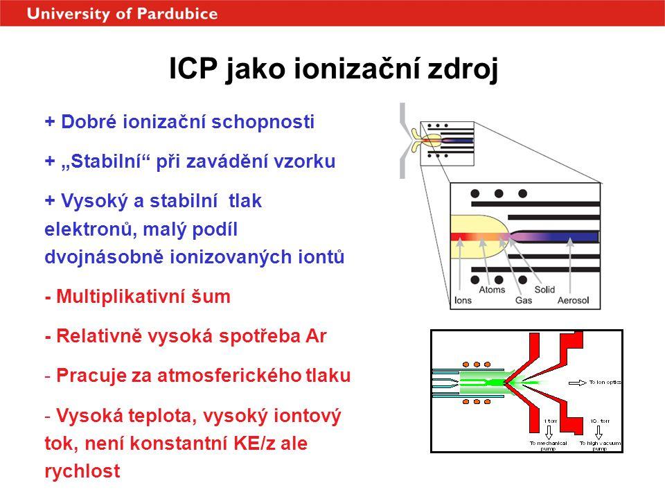 ICP jako ionizační zdroj