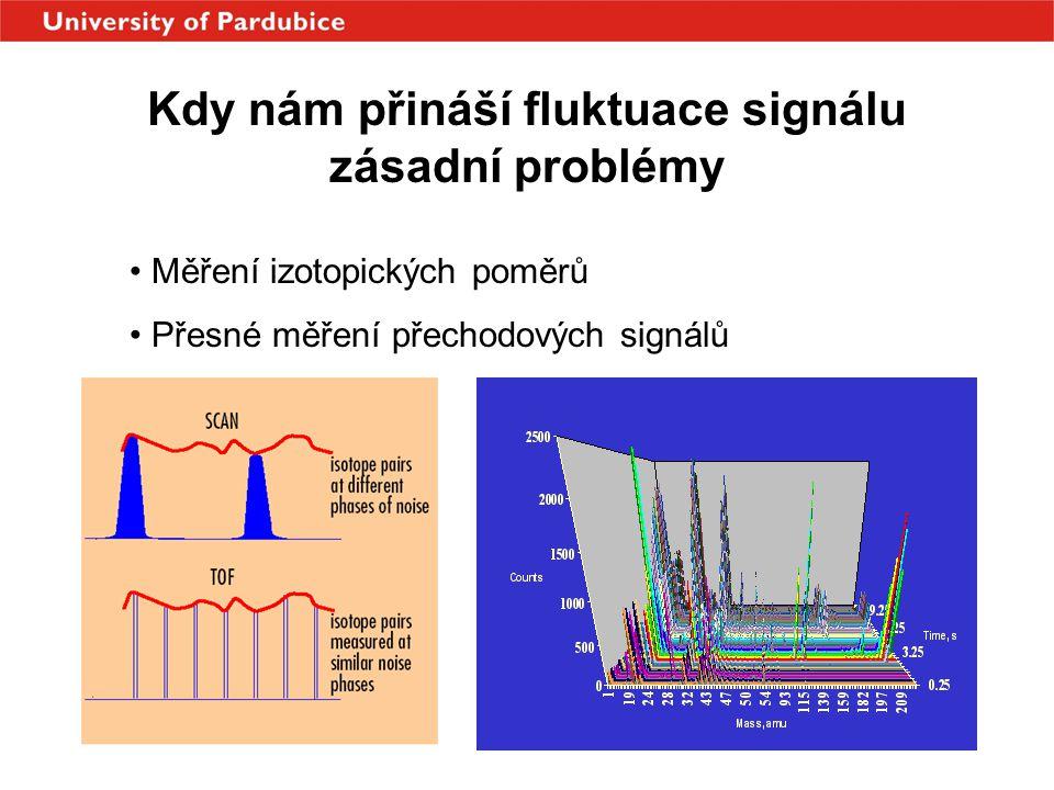 Kdy nám přináší fluktuace signálu zásadní problémy