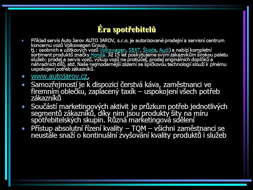 Éra spotřebitelů www.autojarov.cz,