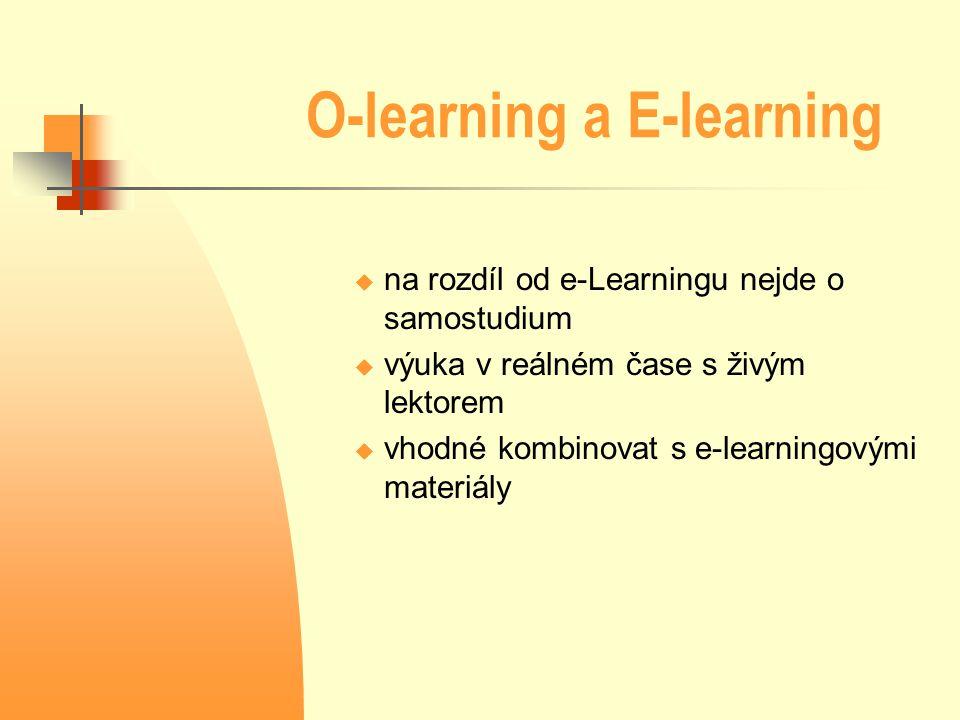 O-learning a E-learning