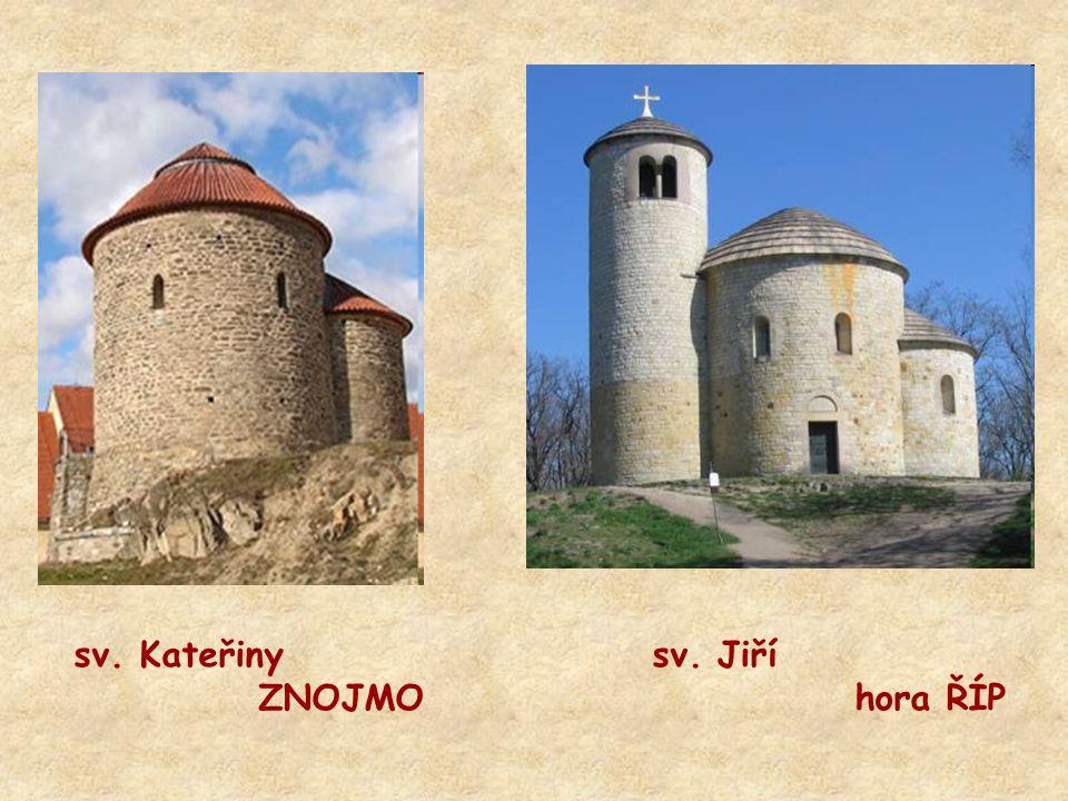 sv. Kateřiny sv. Jiří ZNOJMO hora ŘÍP