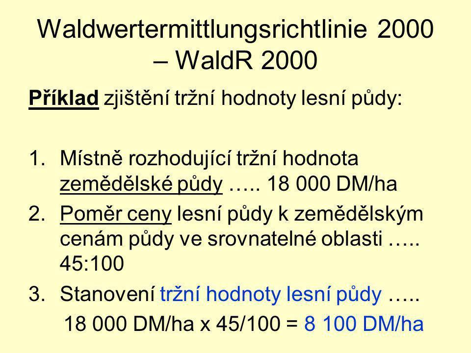 Waldwertermittlungsrichtlinie 2000 – WaldR 2000