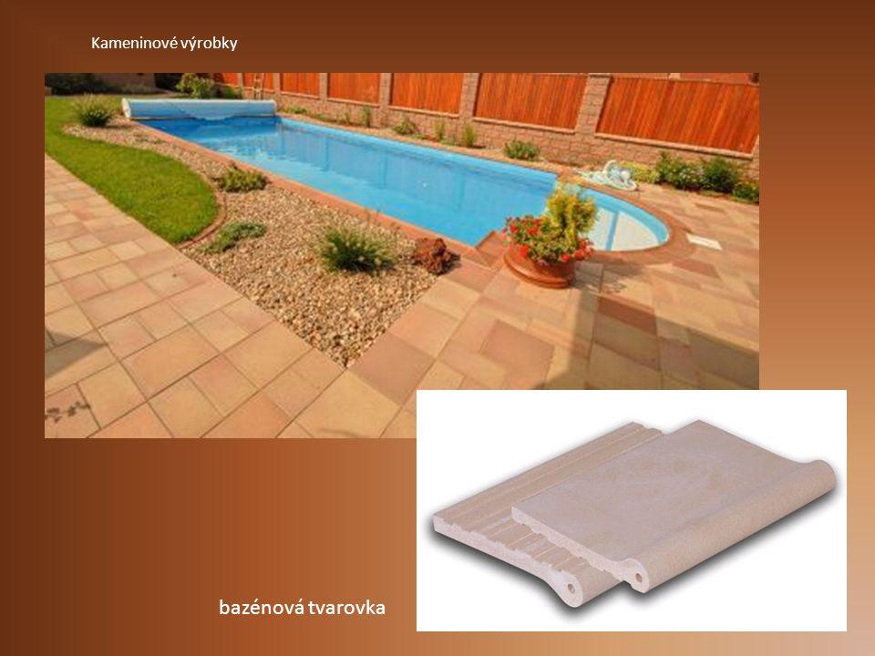 Kameninové výrobky bazénová tvarovka