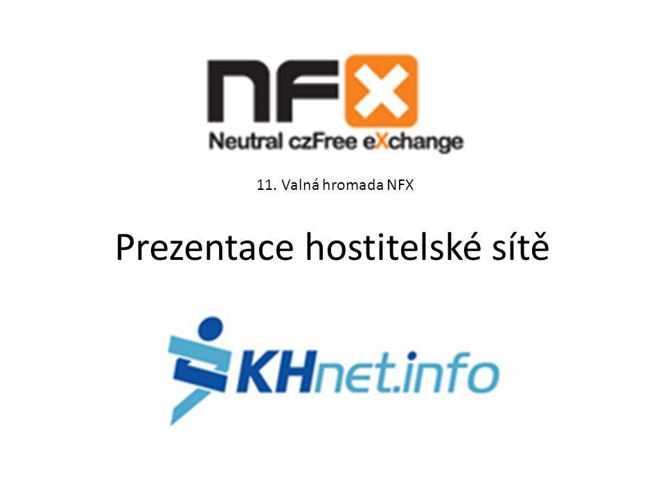 Prezentace hostitelské sítě