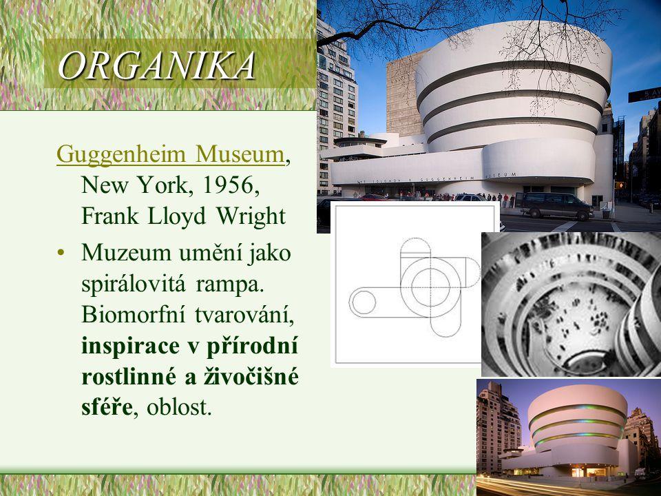 ORGANIKA Guggenheim Museum, New York, 1956, Frank Lloyd Wright